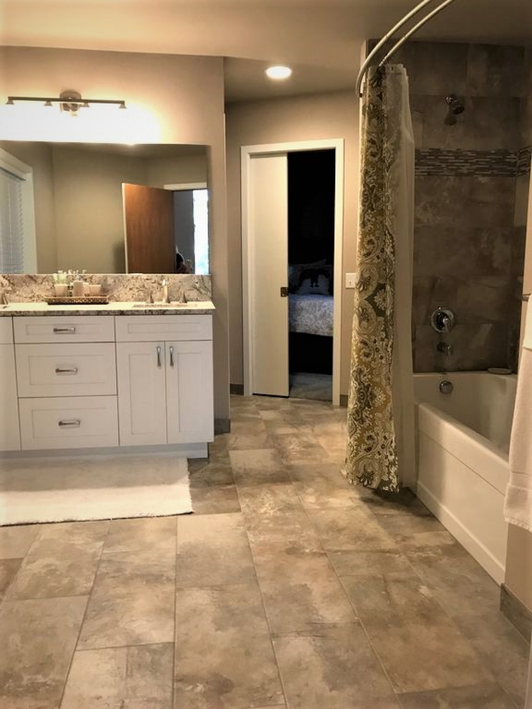 Upgrade Your Bathroom With New Walls and Flooring
